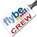 flybe by Loganair Crew Tag